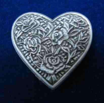 Renaissance Boots Heart-shaped Buttons | The All's Faire Inn